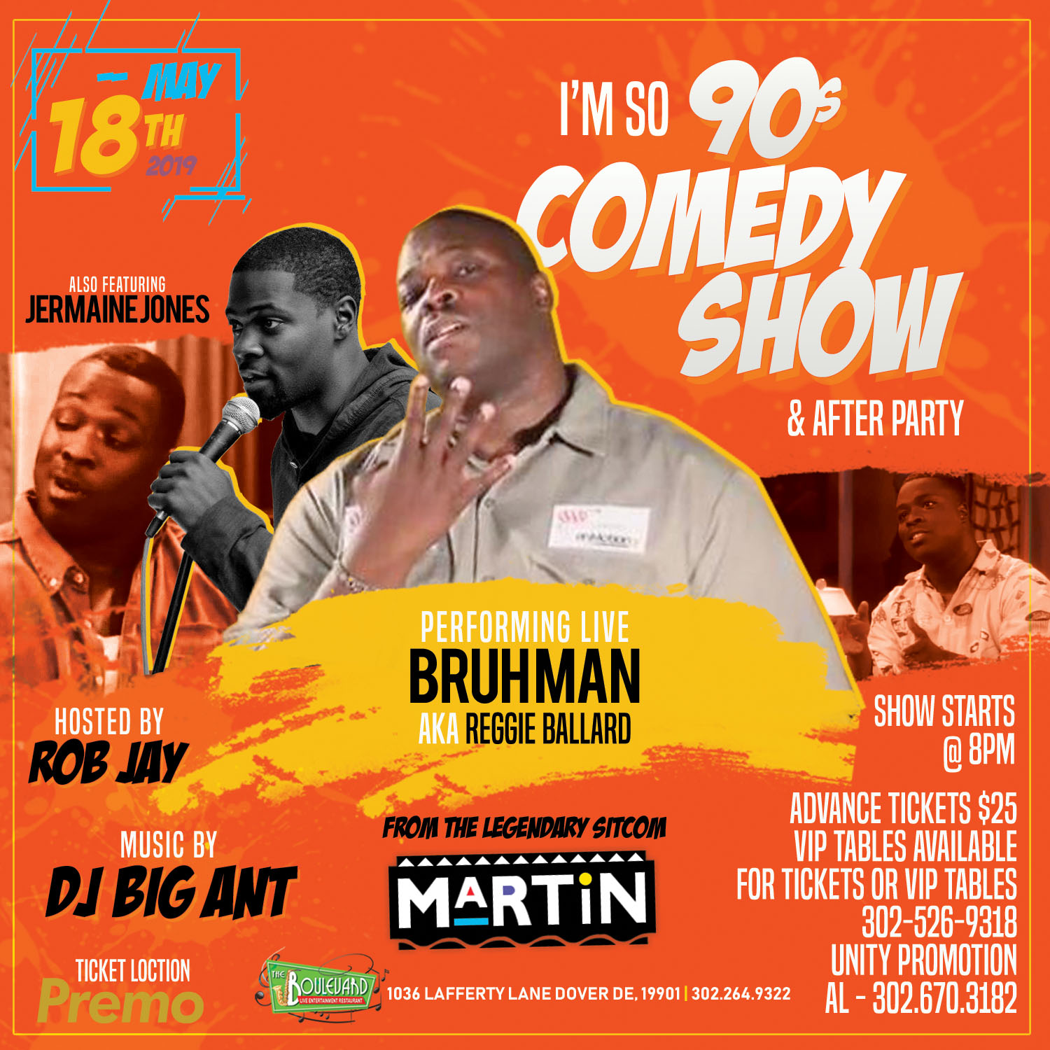 I'M 90s COMEDY SHOW & AFTER PARTY